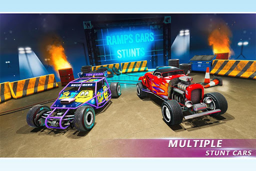 Ramp Stunt Car Racing Games: Car Stunt Games 2019  screenshots 6