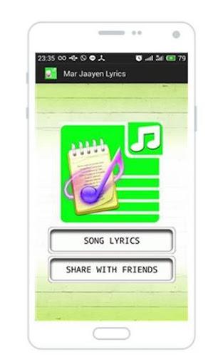 Mar Jaayen Lyrics