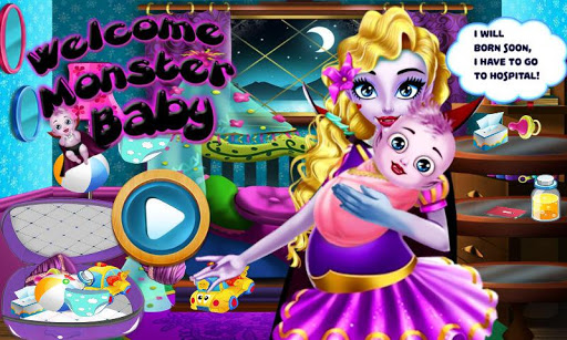 Welcome Monster Baby
