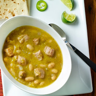 Spicy Pork Tenderloin Green Chili.