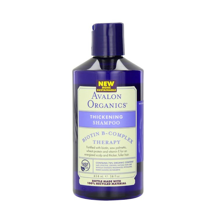Avalon Organics, Biotin B-Complex Therapy, Thickening Shampoo, 14 fl oz (414 ml) hair growth shampoo by Supermodels Secrets