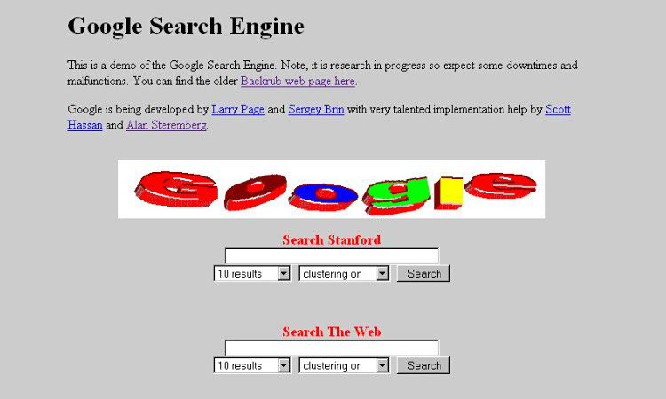 Google Original Search