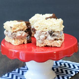Crisp Rice Ice Cream Sandwiches