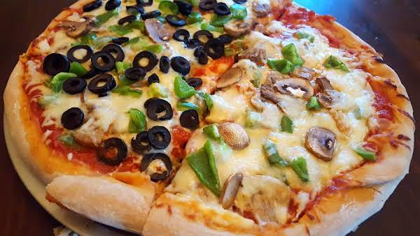Roasted Veggie Pizza With A Whole Wheat Crust Recipe