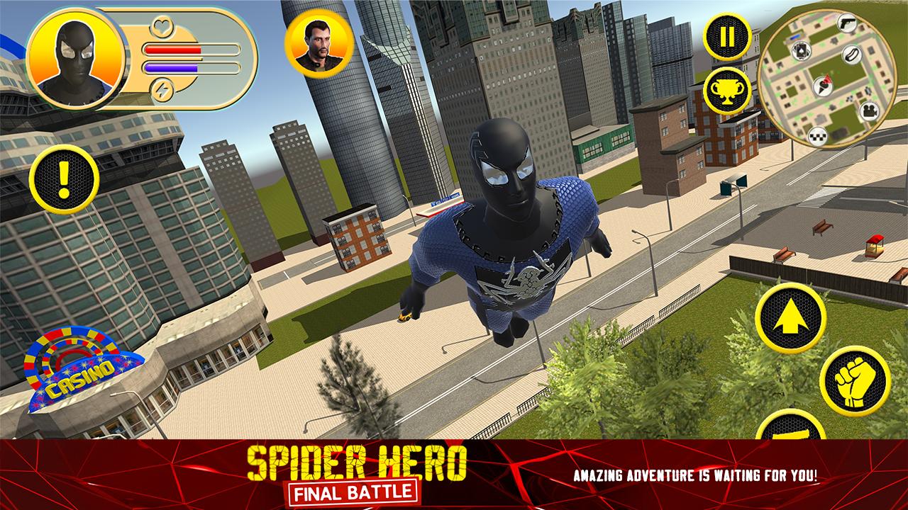 Spider Hero: Final Battle- screenshot