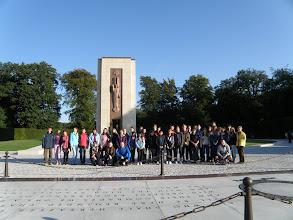 Photo: 1. den - Jedna z prvních cest nás vedla na půdu U.S.A. (Luxembourg American Cemetery and Memorial)