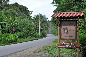 Photo: A sign to remember - do stop for a chocolate cake.