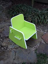 Photo: Green Rocking Chair