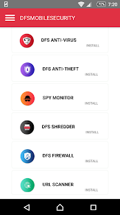 DFS MOBILE SECURITY - náhled