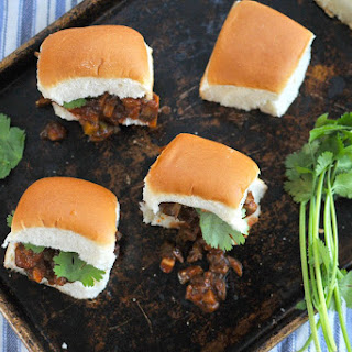 Veggie Joe Sliders (totally vegan-able!)