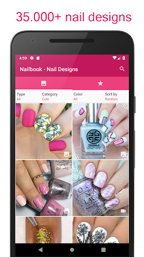 Nailbook ud83dudc85 Nail Designs & Nail Art 2018 1.97 screenshots 1