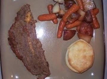 Bbq Cheese Stuffed Meatloaf Recipe