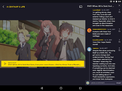 VRV: Anime, game videos & more- screenshot thumbnail