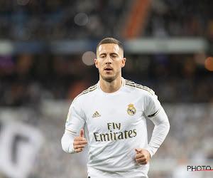 Hazard bel et bien dans le groupe du Real pour affronter Manchester City