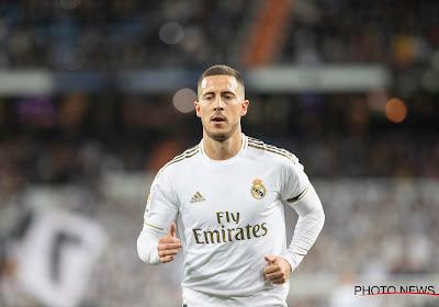 """Zinédine Zidane prend la défense d'Eden Hazard : """"Je ne suis pas préoccupé"""""""