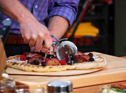 Grilled Dessert Pizza Recipe