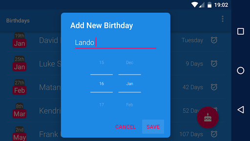 Birthday Reminder  screenshots 7