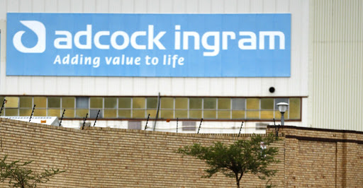 A sign outside the Adcock Ingram offices in Johannesburg. Picture: REUTERS