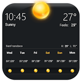 Weather Widget & Thermometer