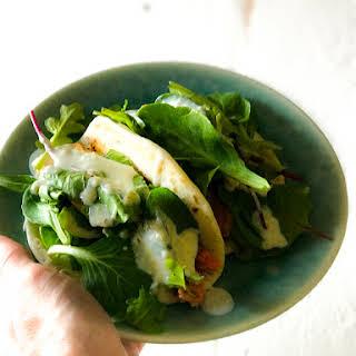 Microwave Salmon Tacos.