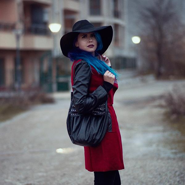 OOTD: Red Coat