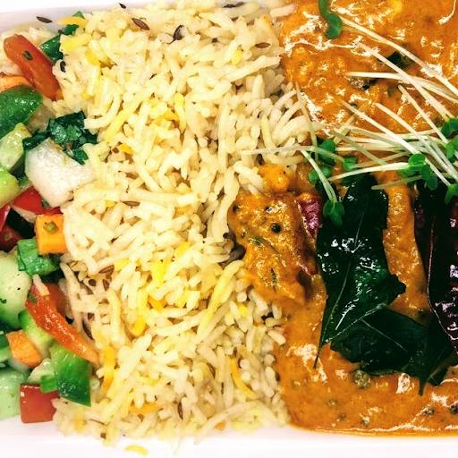 Chicken Madras Rice Bowl