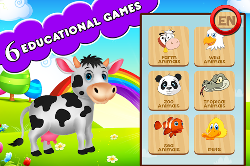 Farm Animals For Toddler 3.1.2 Screenshots 1