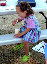 "Photo: Hazel enjoying her root beer ""flat"""