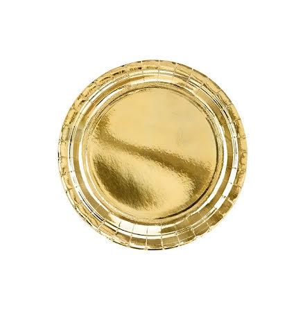 Tallrikar - Guld