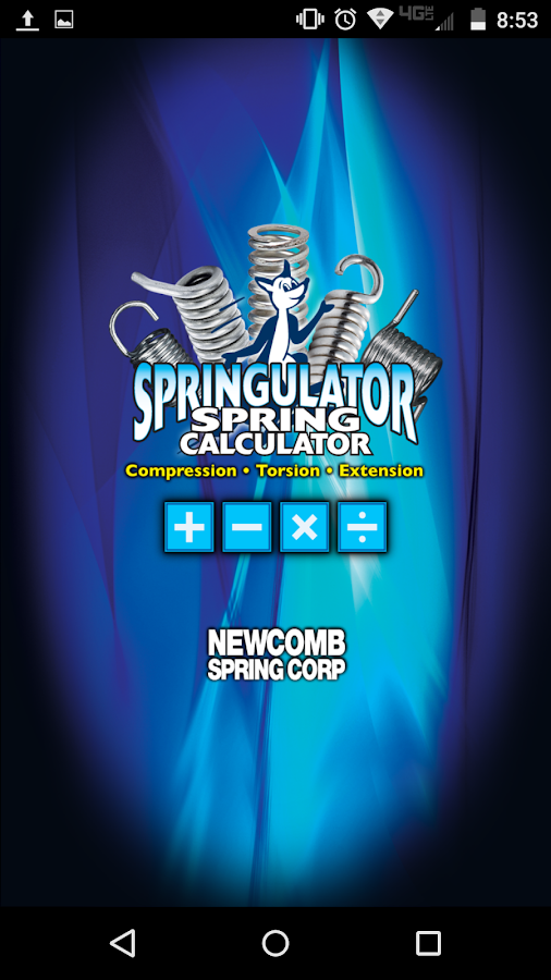Springulator Spring Calculator- screenshot