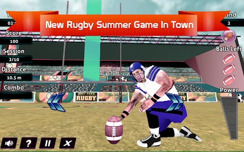 Rugby Union Game screenshot