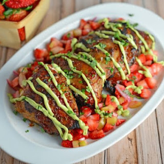 Strawberry BBQ Chicken