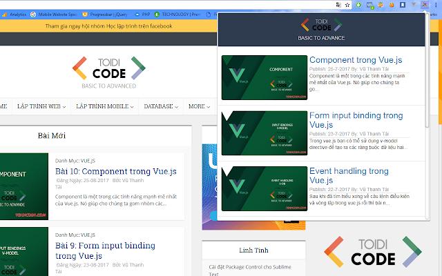 Toidicode.com Extension