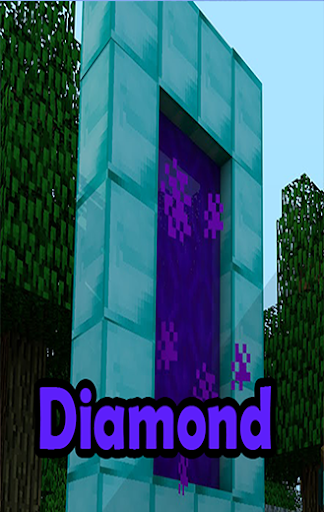 Diamond Portal For MCPE+