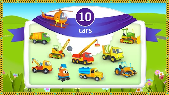 Leo the Truck and cars: Educational toys for kids 9