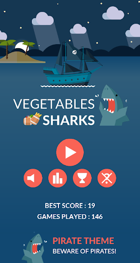 Vegetables Sharks
