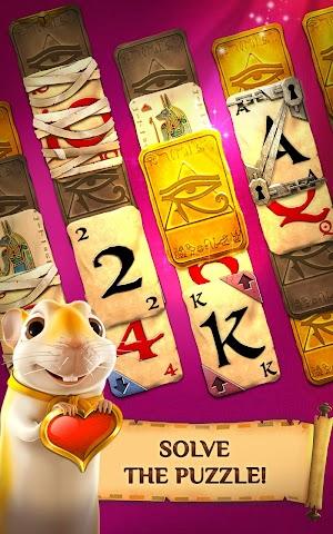 7 Pyramid Solitaire Saga App screenshot