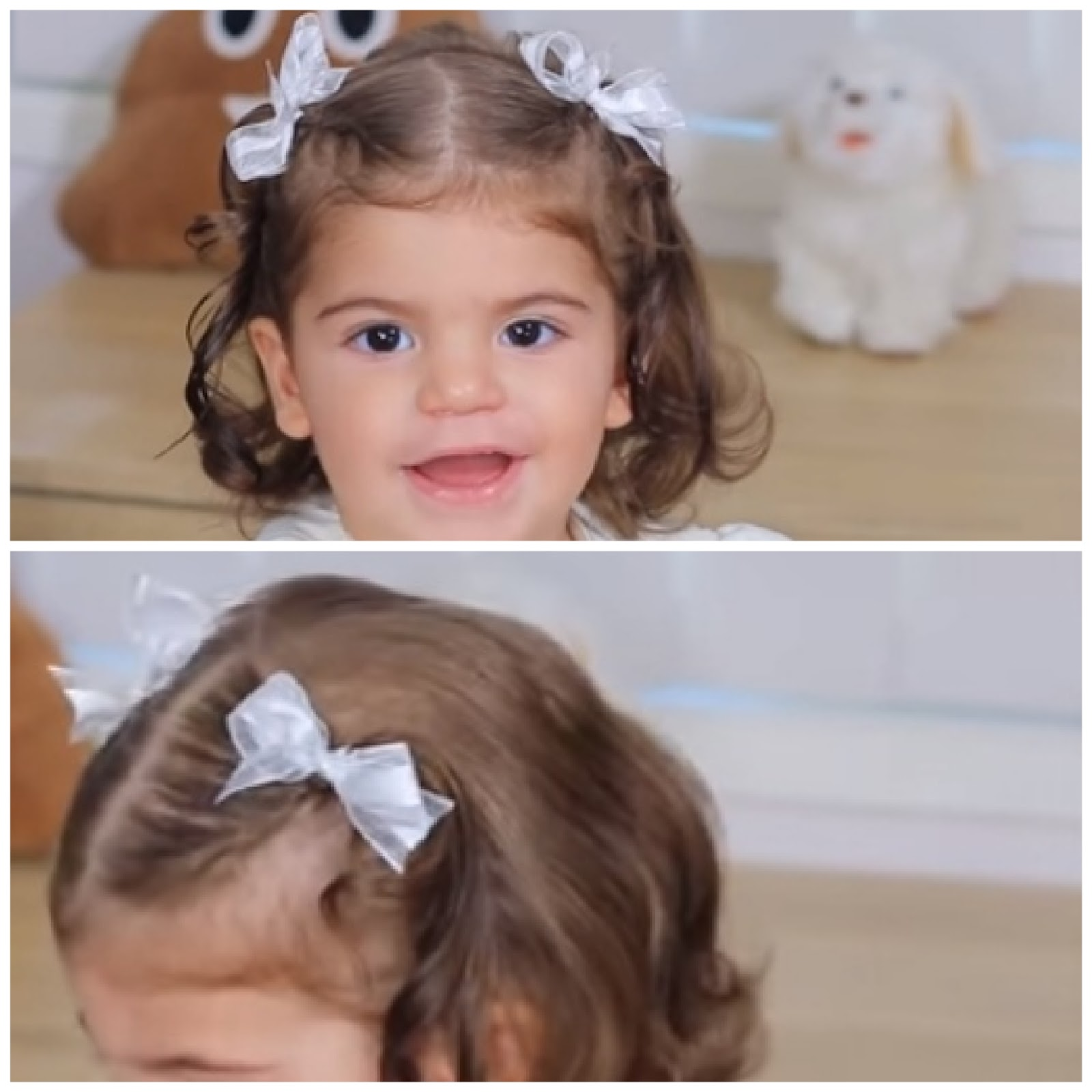 hairstyle for short hair for baby girl
