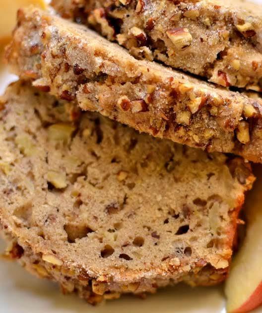 Apple Bread With Cinnamon Pecan Crunch Recipe