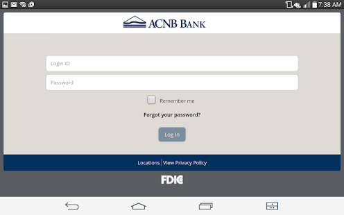 ACNB Bank Mobile App- screenshot thumbnail