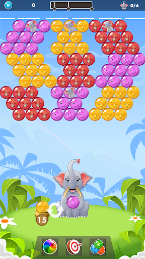 Elephant Baby Rescue: Classic Bubble Shooter 1.0.2 screenshots 3