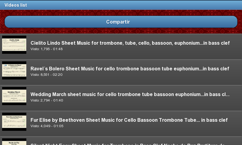 Learn to play the trombone- screenshot