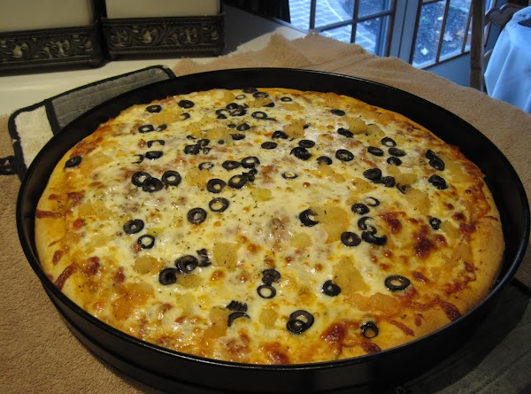 Deep Dish Pizza New York Style By Rose Recipe
