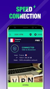 DOG VPN- VPN Free Hotspot Proxy & Wi-Fi Security App Download For Android 2