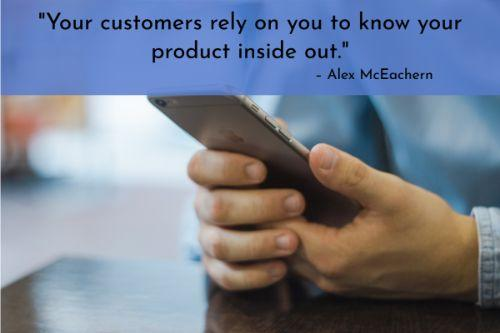 """""""In order to avoid losing them, the simplest thing you can do to make a customer feel valued is to continually thank them for being part of your community.  Through email communications, social messages, and handwritten notes, you can remind customers that you are aware of their business and appreciate it."""" – Alex McEachern"""