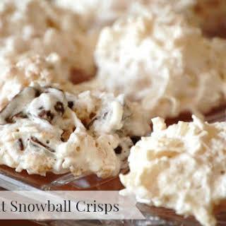 Coconut Snowball Crisps.
