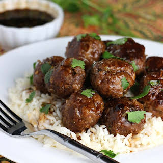 Thai Beef Meatballs.