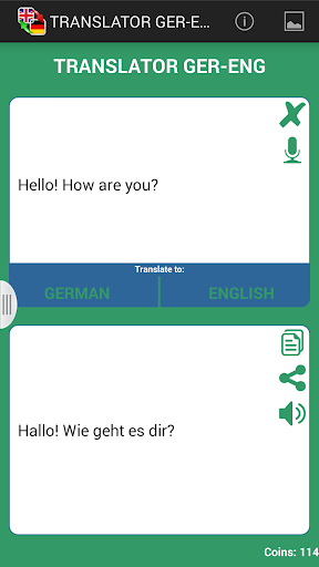 德語-英語翻譯