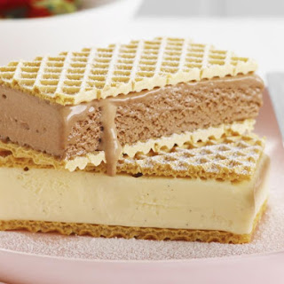 Vanilla Wafer Ice Cream Sandwiches