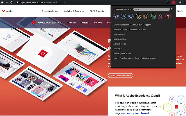 Adobe Experience Cloud Bookmarks